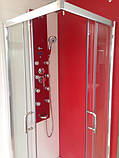 Квадратна душова кабіна Golston G-A3003, 900х900х1800 мм, скло прозоре, фото 2