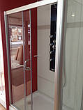 Прямокутна душова кабіна Golston G-F6004, 1200x800x1800 мм, скло прозоре, фото 5