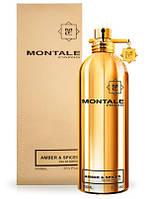 Духи Montale Amber & Spices для мужчин и женщин