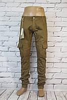 Мужские стильные джинсы-карго Jenas Wear (код 1370) (29-36рр.)