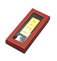 Золотой слиток (7,5х2,5х1,5 см)