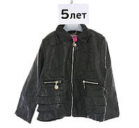 Супер модная куртка под кожу на девочку, To be Too