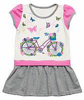 Летнее платье для девочки Велосипед