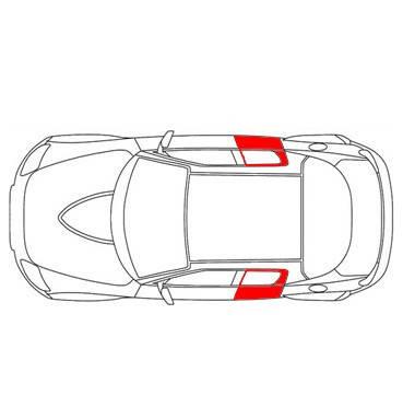 Трос стеклоподъёмника Renault Fluence 2009-2016 задняя левая/правая дверь (Рено Флюенс), фото 2