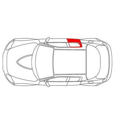 Каретка направляющая стеклоподъемника Fiat Doblo 2011-...передняя-задняя правая дверь, фото 2