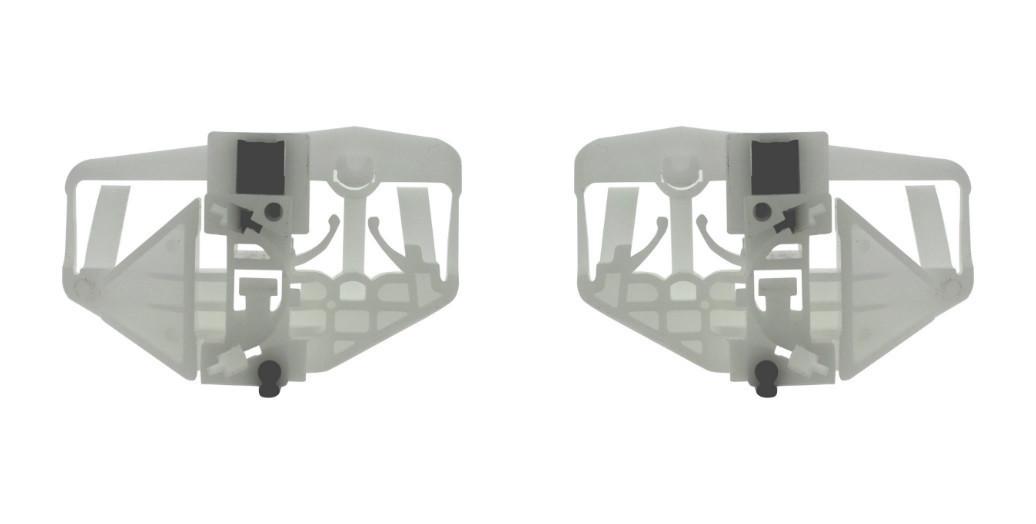 Каретка направляющая стеклоподъемника Peugeot Partner левая правая дверь