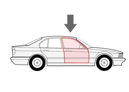 Каретка напрямна склопідіймача Peugeot 407 праві двері, фото 2