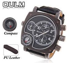 Мужские классические наручные часы OULM 9526 Steel