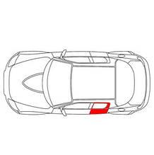 Каретка направляющая стеклоподъемника Peugeot 508 задняя левая дверь