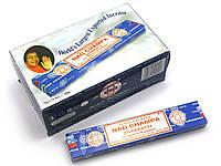 Nag champa (Чампа)(15 gms) (12шт/уп)(Satya) пыльцовое благовоние