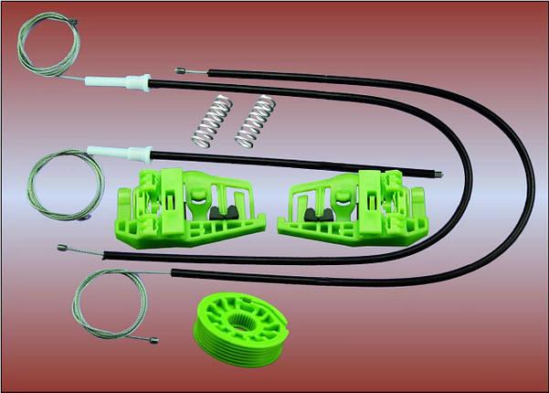Ремкомплект стеклоподьемника E46 COMPACT передней левой и правой двери, фото 2