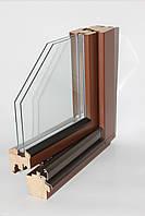 Деревянные окна из евро бруса