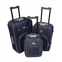 Дорожный чемодан на колесиках Bonro Lux для путешествий набор 3 штуки