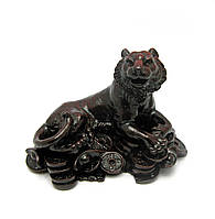 Тигр каменная крошка коричневый (12х8х8 см)