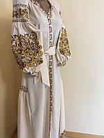 Вишита сукня дизайнерська робота домоткане полотно