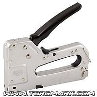 Степлер пружинный 3-В-1 скоба 4-14, 11,3х0,7мм, гвоздь 14 мм, скоба 4-14, 10,6х1,2 мм, корпус металл