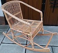 Кресло-качалка плетеное, фото 1
