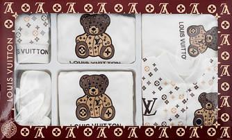 Подарочный набор для новорожденного LOUIS VUITTON, 7 предметов