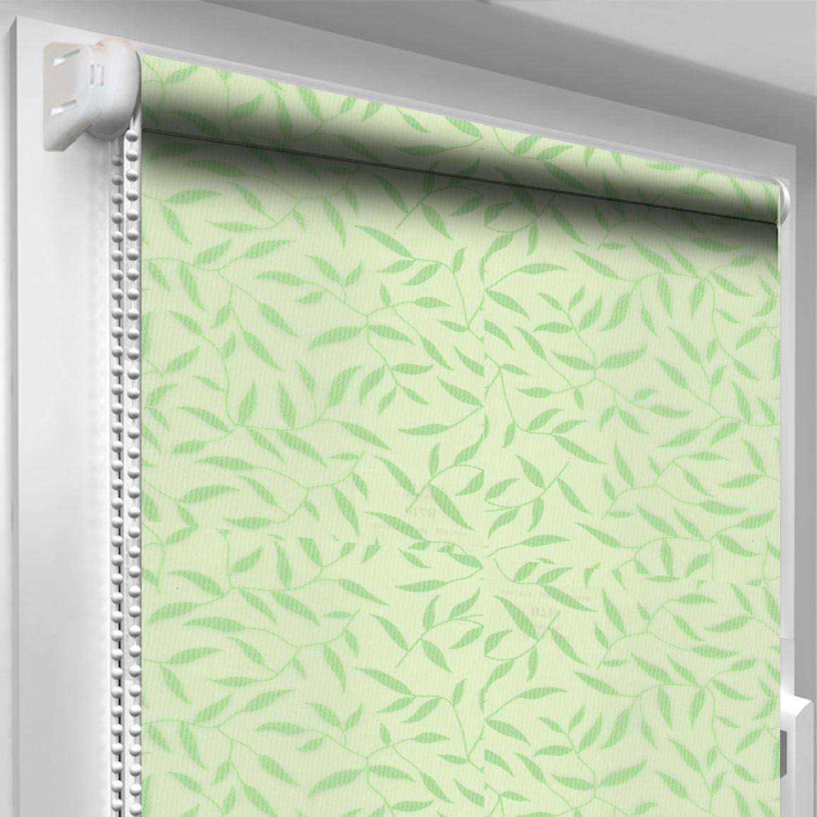 Рулонная штора DecoSharm В714 Зелёная