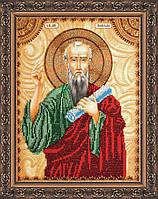 Набор для вышивки бисером именной иконы  «Святой Павел»