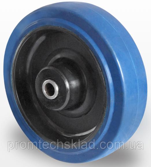 Колесо еластична гума/поліамід 80 мм, підшипник роликовий (Німеччина)