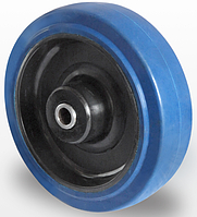 Колесо эластичная резина/полиамид 80 мм, подшипник роликовый (Германия)