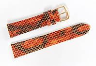 Ремешок кожаный Bros Cvcrro a Mano для наручных часов с классической застежкой, комбинированный, 20 мм