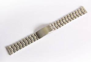 Браслет стальной Nobrand для наручных часов серебряный, 18 мм