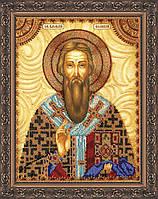 Набор для вышивки бисером именной иконы  «Святой Василий»