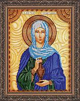 Набор для вышивки бисером именной иконы  «Святая Анастасия»