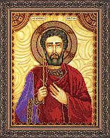 Набор для вышивки бисером именной иконы  «Святой Виктор»
