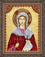 Набор для вышивки бисером именной иконы  «Святая Ника (Виктория)»