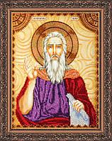 Набор для вышивки бисером именной иконы  «Святой Илья»
