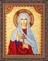 Набор для вышивки бисером именной иконы  «Святая Евгения»