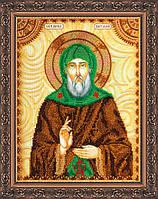 Набор для вышивки бисером именной иконы  «Святой Виталий»