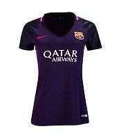 Женская футболка Барселоны (гостевая) сезона 2016-2017, фото 1