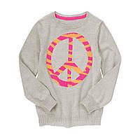 Детский свитер для девочки.  4, 5-6 лет
