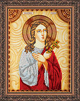 Набор для вышивки бисером именной иконы  «Святая Вера»