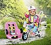 Велосипед для куклы пупса Беби Борн Baby Born Zapf Creation
