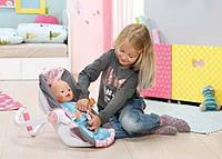 Кресло-люлька Комфортное путешествие  Zapf для куклы Baby Born