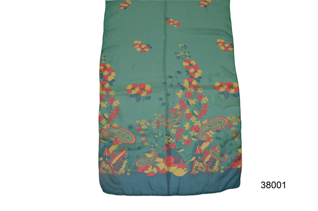 Женский легкий шифоновый шарф 2