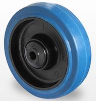 Колесо эластичная резина/полиамид 125 мм, подшипник роликовый (Германия)