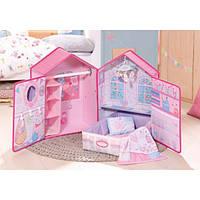 Домик для куклы Zapf Baby Annabell Розовые сны с аксессуарами, фото 1