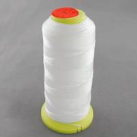 Нить Нейлоновая Швейная в катушках, Цвет: Белый, Толщина 0.2мм, около 800м/1катушка, (УТ100005587)