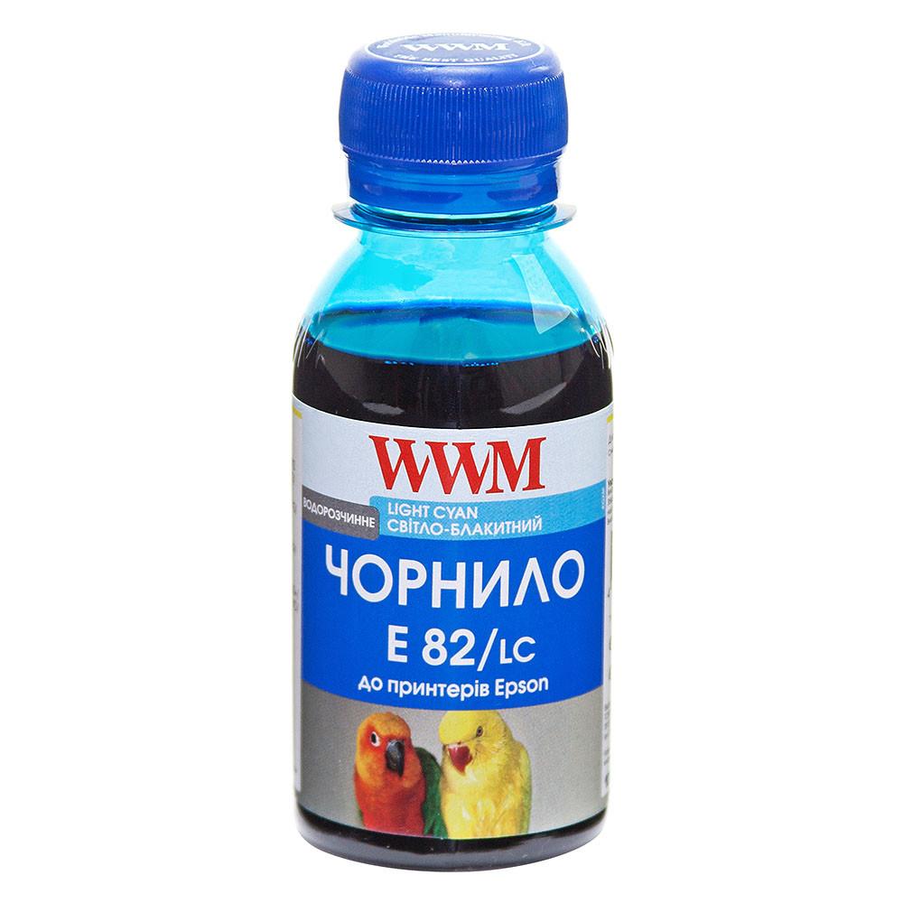 Чернила WWM для Epson Stylus Photo T50/P50/PX660 100г Light Cyan Водорастворимые (E82/LC-2)