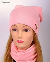 Модная весенняя шапка для девушек , фото 1