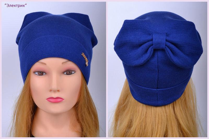Демисезонная шапка для девочки мода 2018