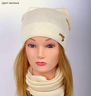 Красивая весенняя шапка для девушки