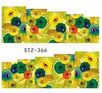 Водные наклейки слайдер-дизайн цветы 366