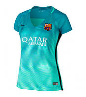 Женская футболка Барселоны (резервная) сезона 2016-2017, фото 1